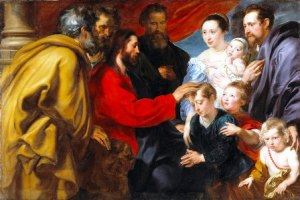 Suffer the Children - Anthony van Dyck