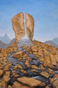 Rock of Horeb by Mariano David Otero ©2010-2014 MarianoDavidOtero